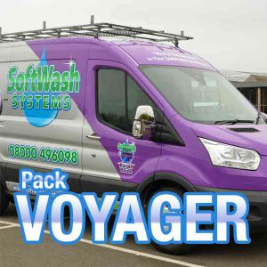 Voyager SoftWash Systems pack