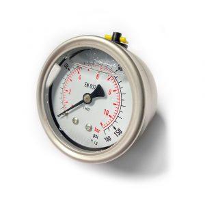 160psi Liquid-Filled Pressure Gauge
